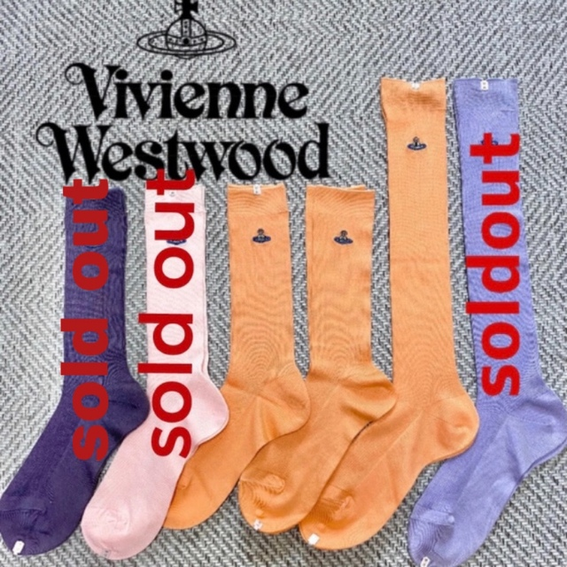 Vivienne Westwood(ヴィヴィアンウエストウッド)のVivienne Westwood ヴィヴィアンウエストウッド ソックス 靴下 レディースのレッグウェア(ソックス)の商品写真