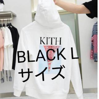 シュプリーム(Supreme)のKITH TOKYO 限定パーカー 東京タワー Lサイズ BLACK(パーカー)
