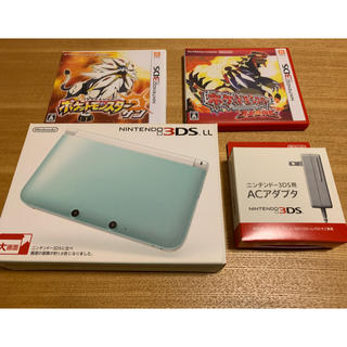 ニンテンドー3DS - Nintendo 3DS ニンテンドー 本体 LL ※ポケモンソフトセット