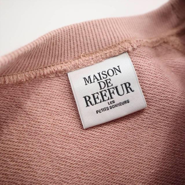 Maison de Reefur(メゾンドリーファー)のMAISON DE REEFUR  スウェット トレーナー レディースのトップス(トレーナー/スウェット)の商品写真