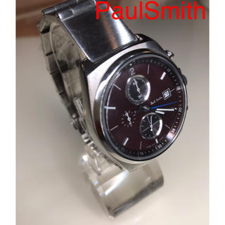 Paul Smith - PaulSmith ポールスミス  時計 クロノグラフ メンズ 稼働品 美品