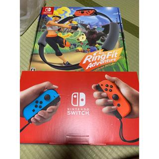 ニンテンドースイッチ(Nintendo Switch)の《値下げ》早い者勝ち リングフィットアドベンチャー Switch本体セット(家庭用ゲーム機本体)