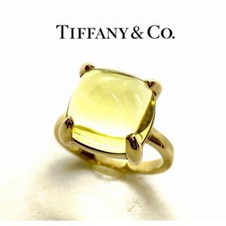 Tiffany & Co. - 【美品】ティファニー パロマピカソ シュガースタック レモンクォーツ リング