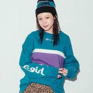X-girl - Champion コラボ 厚手 Tシャツ