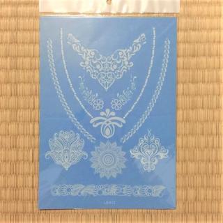 【まとめ買いでお得!】21cm 白ヘナシリーズ LS-612 タトゥーシール(型紙/パターン)