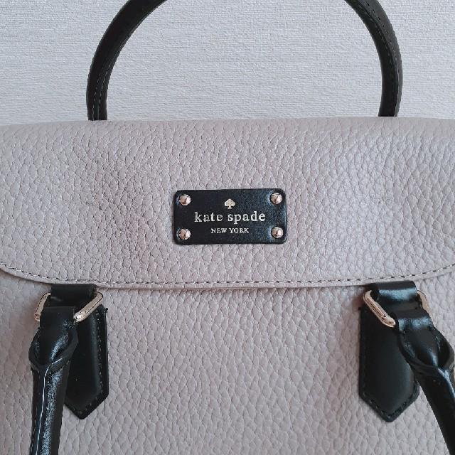 kate spade new york(ケイトスペードニューヨーク)のケイト・スペード バッグ 2way バイカラー レザー レディースのバッグ(ハンドバッグ)の商品写真