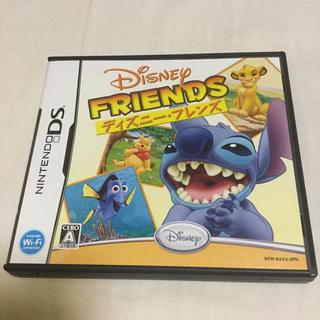 ディズニー(Disney)の美品 ディズニー・フレンズ DS(携帯用ゲームソフト)
