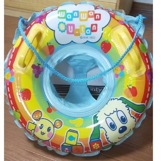 タカラトミー(Takara Tomy)のわんわん&うーたん 浮き輪 持ち手、足入れ部分つき サイズ50cm(マリン/スイミング)