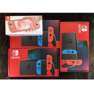 ニンテンドースイッチ(Nintendo Switch)の新型 Nintendo Switch ネオン×3 lite コーラル×1(家庭用ゲーム機本体)