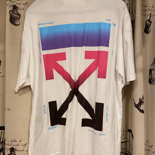 OFF-WHITE - オフホワイトoff-whiteのバックロゴプリントTシャツ