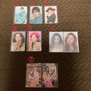Red Velvet アイリーン トレカ(K-POP/アジア)