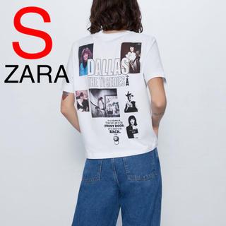 ザラ(ZARA)のZARA ダラス Tシャツ バックプリント(Tシャツ(半袖/袖なし))