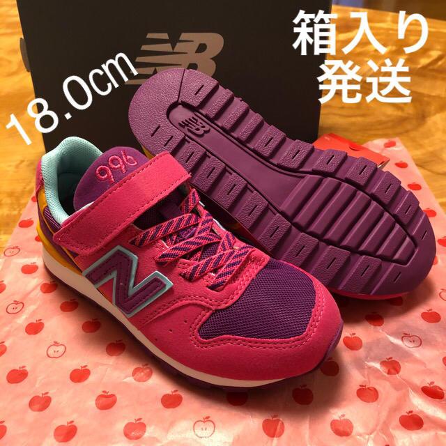 New Balance(ニューバランス)の新品 18㎝ ニューバランス スニーカー キッズ/ベビー/マタニティのキッズ靴/シューズ(15cm~)(スニーカー)の商品写真