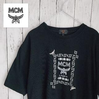 エムシーエム センターロゴ Tシャツ MCM ティーシャツ