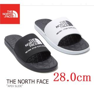 THE NORTH FACE - ノースフェイス サンダル スリッパ APEX SLIDE 28cm 黒 k16C