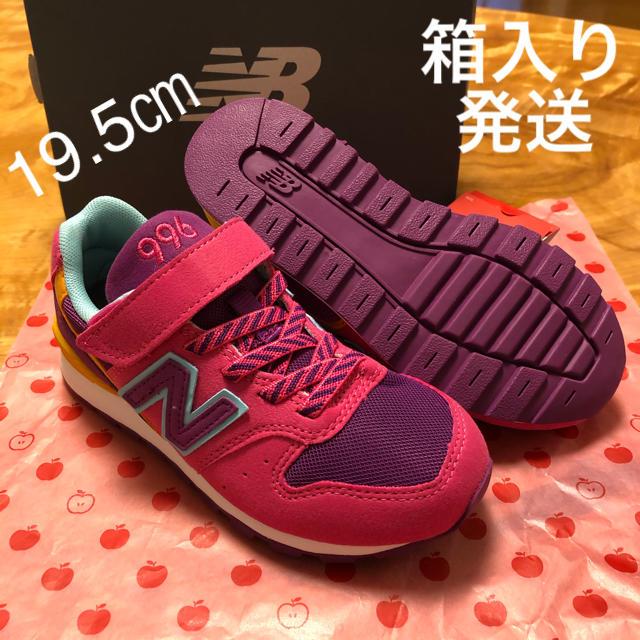 New Balance(ニューバランス)の新品 19.5㎝ ニューバランス スニーカー キッズ/ベビー/マタニティのキッズ靴/シューズ(15cm~)(スニーカー)の商品写真