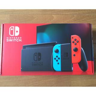 ニンテンドースイッチ(Nintendo Switch)のNintendo 任天堂 switch スイッチ 本体 ネオン レッドブルー(家庭用ゲーム機本体)