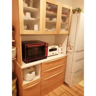 ニトリ(ニトリ)の食器棚 木製(キッチン収納)