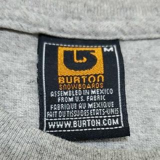 バートン(BURTON)のBURTON バートン 除雪車2台 ラバープリントTシャツ(Tシャツ/カットソー(半袖/袖なし))