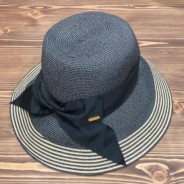 SHIPS(シップス)のウォシャブルUVハット BK57.5 レディースの帽子(ハット)の商品写真