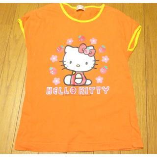ハローキティ - サンリオ ハローキティ Tシャツ サイズ130 <c192>