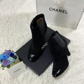 CHANEL - CHANEL シャネル ブーツ 36ハーフ