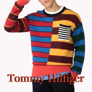 トミーヒルフィガー(TOMMY HILFIGER)の完売品!トミーヒルフィガー サマーニット Mサイズ(ニット/セーター)
