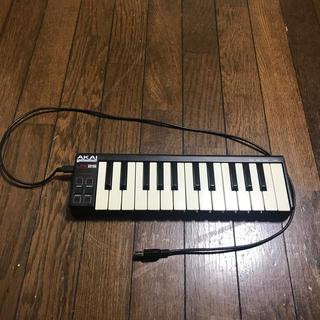 AKAI LPK25 midi キーボード 中古品 付属品はUSBケーブルのみ(MIDIコントローラー)