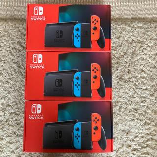 ニンテンドースイッチ(Nintendo Switch)のNintendo Switch JOY-CON(L) ネオン 3台(家庭用ゲーム機本体)