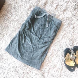ジェームスパース(JAMES PERSE)の極美品 JAMES PERSE  スウェットスカート 0(ひざ丈スカート)