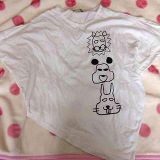 ファンキーフルーツ(FUNKY FRUIT)のアニマルTシャツ(Tシャツ(半袖/袖なし))