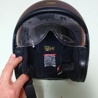 ショウエイシャ(翔泳社)のShoei premium helmet J.O バイク ヘルメット L サイズ(ヘルメット/シールド)