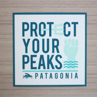 パタゴニア(patagonia)のパタゴニア ステッカー 正方形(その他)