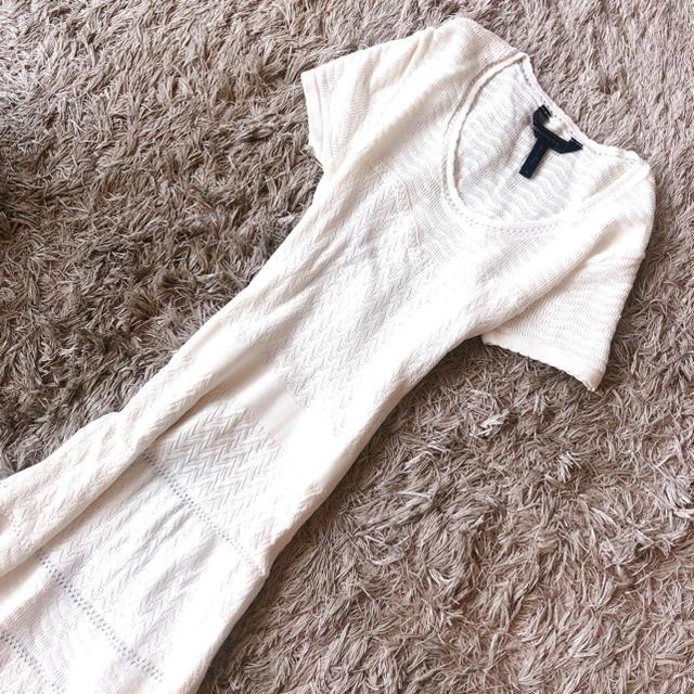 BCBGMAXAZRIA(ビーシービージーマックスアズリア)の極美品 BCBG MAXAZRIA 美ライン ストレッチニットワンピース M レディースのフォーマル/ドレス(ロングドレス)の商品写真