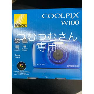 ニコン(Nikon)のCOOLPIX W100 新品未開封品(コンパクトデジタルカメラ)