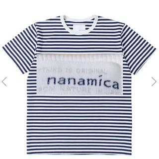 新品 nanamica ナナミカ ボーダーTシャツ サイズL