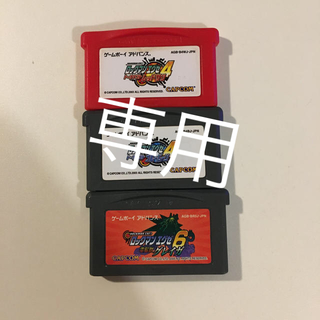 ゲームボーイアドバンス(ゲームボーイアドバンス)のロックマンエグゼ4、6(携帯用ゲームソフト)