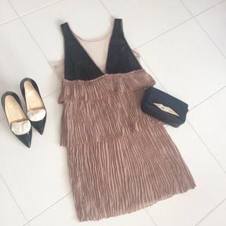 ビーシービージーマックスアズリア(BCBGMAXAZRIA)の新品タグ♡bcbgmaxazriaドレス(ひざ丈ワンピース)