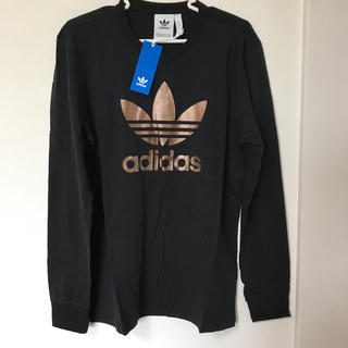アディダス(adidas)の【新品】アディダスオリジナルス 長袖Tシャツ  サイズO(XL)トレフォイル(Tシャツ/カットソー(七分/長袖))