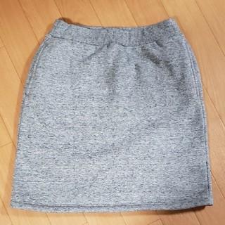 ユニクロ(UNIQLO)のUNIQLO  ボアスウェットスカート(スカート)
