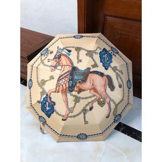 Hermes - Hermesノベルティ 自動折り畳み傘