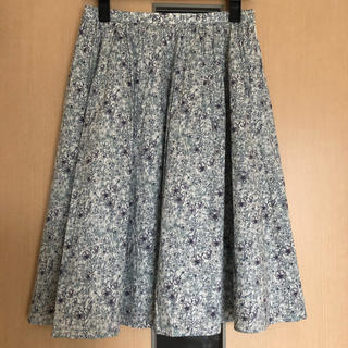 IENA - 【極美品】アルアバイル 膝丈スカート 花柄 リバティプリント 定価17,280円