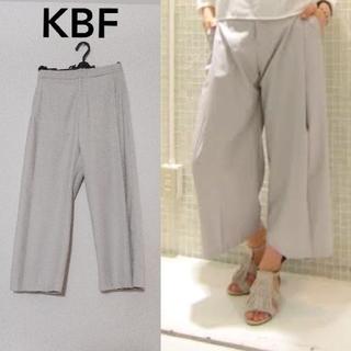 KBF - 【KBF】ワイド パンツ