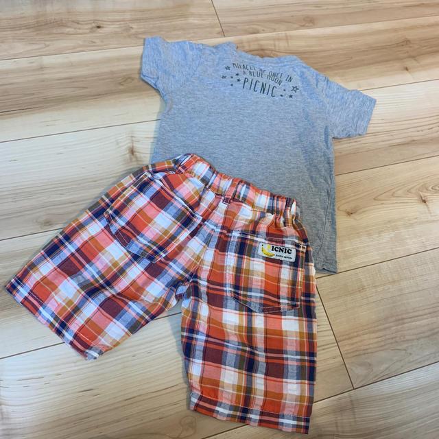 mikihouse(ミキハウス)のミキハウス ピクニック 100  キッズ/ベビー/マタニティのキッズ服男の子用(90cm~)(Tシャツ/カットソー)の商品写真