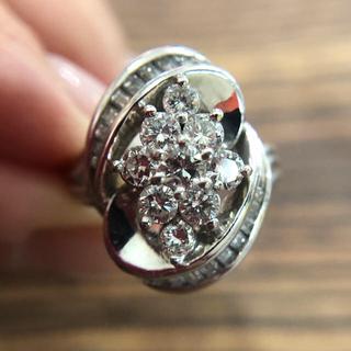 ミツコシ(三越)のPt900♡三越 ダイヤモンドリング 1.56ct(リング(指輪))