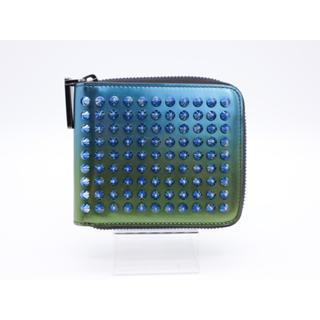クリスチャンルブタン(Christian Louboutin)の《Christian Louboutin/スタッズ 二つ折り財布》ABランク(折り財布)
