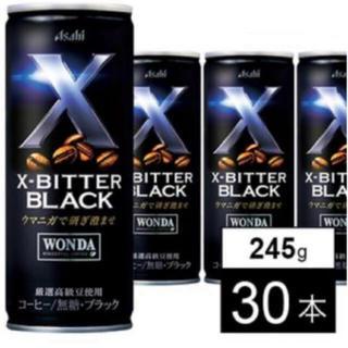 アサヒ - [値下げ中30本]カンコーヒー アサヒ ワンダXビター245g