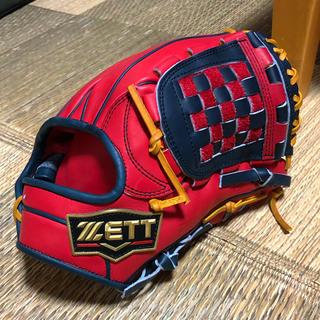 ZETT - 源田モデル ZETT プロステ 限定ラベル 軟式 内野手オーダーグラブ