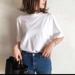 UNIQLO - ユニクロ♡クロップドクルーネックTシャツ