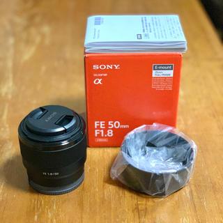SONY - sony FE 50mm F1.8 単焦点